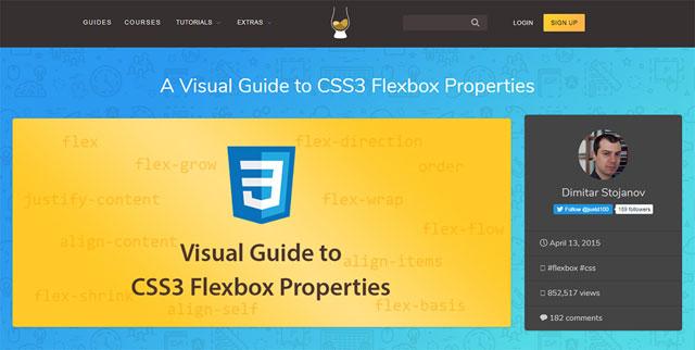 分享9个最佳免费CSS Flexbox教程